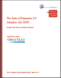 State of Enterprise 2.0 Adoption