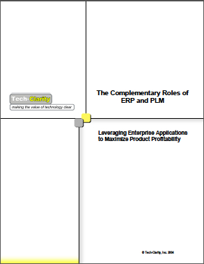 Complementary Roles of ERP and PLM