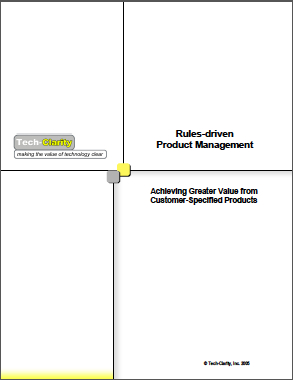Rules-driven Product Management
