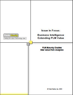 Business Intelligence Extending PLM Value