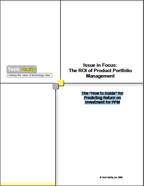 The ROI of Product Portfolio Management