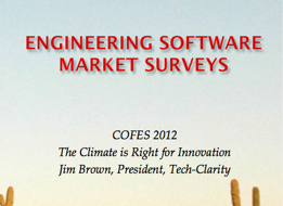 Engineering Software Market Predictions from the COFES Crystal Ball