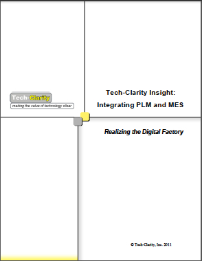 Integrating PLM and MES – Realizing the Digital Factory