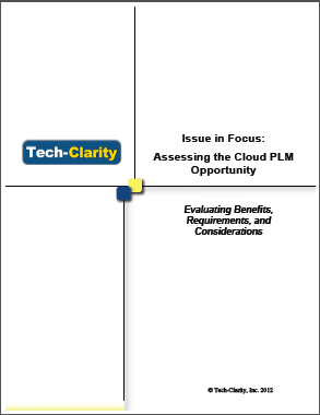 Assessing the Cloud PLM Opportunity