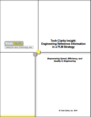 Engineering Reference Information in a PLM Strategy