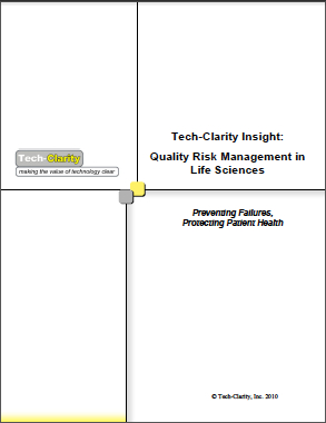 Quality Risk Management in Life Sciences