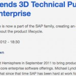 SAP Extends 3D Technical Publishing to the Enterprise | advantage4plm