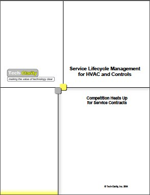 Service Lifecycle Management for HVAC and Controls