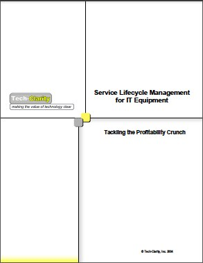 Service Lifecycle Management for IT Equipment