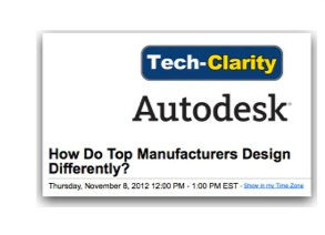 Webcast on how Leading Manufacturers Design Products