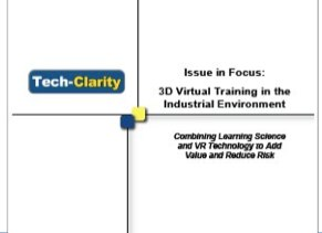 3D Virtual Training in the Industrial Environment