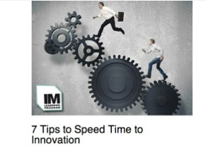 7 Tips to Speed Time to Market