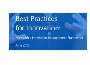 Microsoft's Innovation Management Framework White Paper and IM Consortium