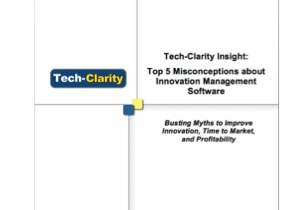 Top 5 Misconceptions about Innovation Management Software