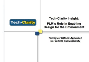 PLM's Role in Enabling Design for Environment