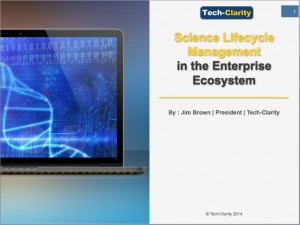 Science Lifecycle Management in the Enterprise Ecosystem - Tech-Clarity