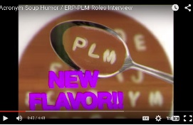 PLM411 Eating Acronym Soup Gag / ERP-PLM Roles Interview with NetSuite