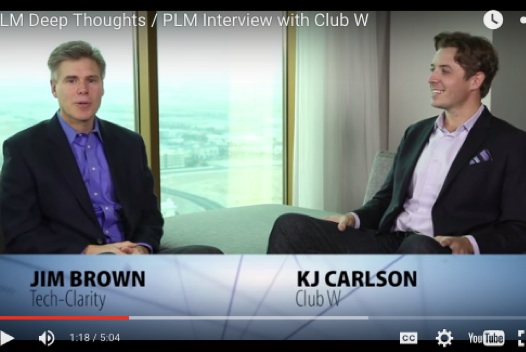 PLM411 PLM Deep Thoughts / Club W PLM Interview with KJ Carlson