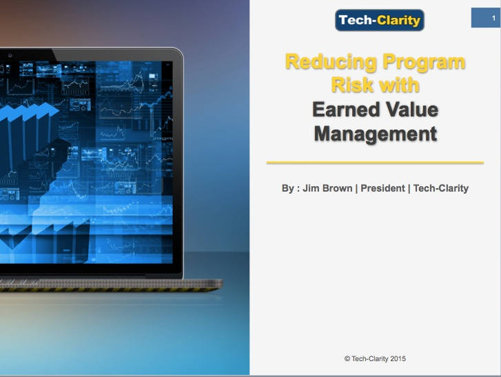 Reducing Program Risk with EVM