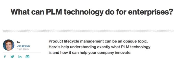 TechTarget_PLM_Article