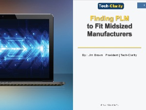 Finding PLM to Fit Midsized Manufacturers eBook