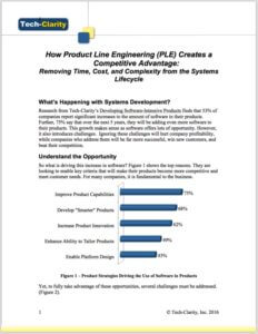 Product Line Engineering (PLE)