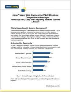 Product Line Engineering (PLE)