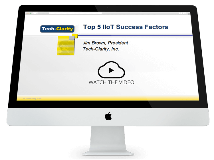Top Five Five Factors for a Successful IIoT Implementation (webcast replay)