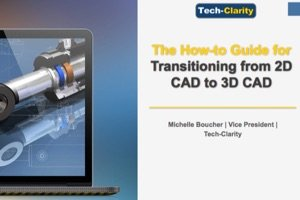 Best Practices for Going from 2D to 3D CAD (eBook, survey findings)