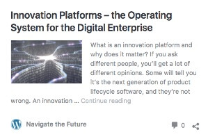 Innovation Platforms are the Operating Systems for the Digital Enterprise (guest post)