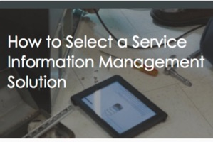Selecting a Solution to Manage Service Information (guest post)