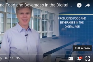 Producing Food and Beverages in the Digital Age (video)