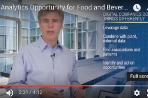 The Analytics Opportunity for Food and Beverage in the Digital Age (video)