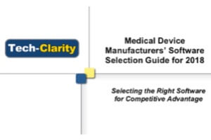 Medical Devices Manufacturers Software Selection Guide for 2018