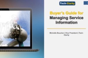 Buyer's Guide for Managing Service Information (eBook, survey results)