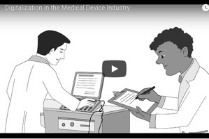 Digitalization in the Medical Device Industry (animation)