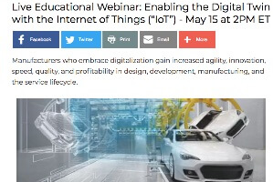 Enabling the Digital Twin with IoT (webcast)