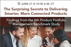 Secrets to Delivering Smart, Connected Product Portfolios (webcast)