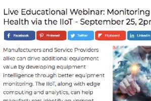 IoT Equipment Health Monitoring (webcast)