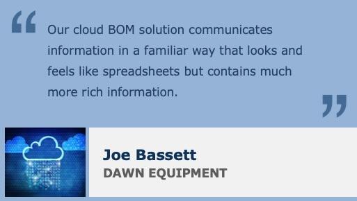 BOM Process Spreadsheet