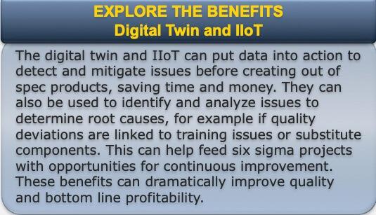 Digital Twin Industrial IoT Benefits