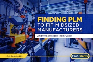 PLM for SMB – Finding PLM to Fit Midsized Manufacturers (eBook)