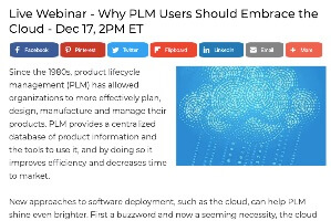 Cloud PLM Webcast with Engineering.com