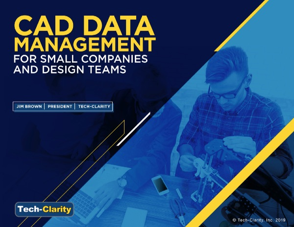CAD Data Management for Small Companies and Design Teams