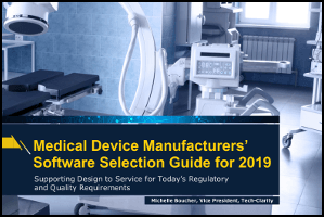 Medical Device Manufacturers' Software Selection Guide (buyer's guide)