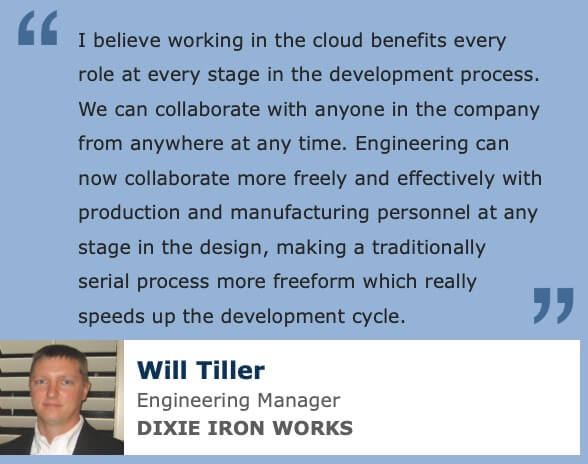 Cloud Product Development Quote Dixie Iron Works