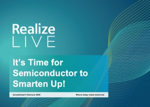 Its Time for Semiconductor to Smarten Up!  (presentation)
