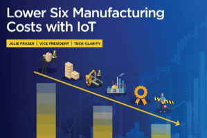 Lower Six Manufacturing Costs with IoT (eBook)